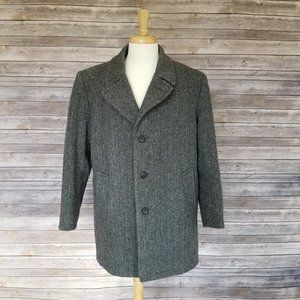 BOTANY 500 wool blend fleece lined winter jacket